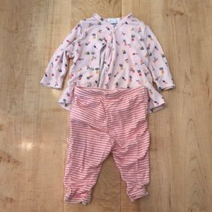 Angel Dear Outfit 0-3 Months
